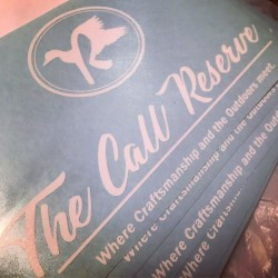 The Call Reserve Sticker