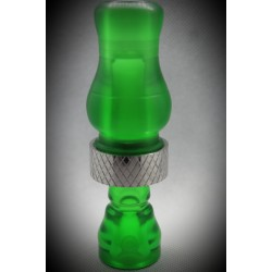 Iowa Hunting Products Transparent Green Matte Duck Call
