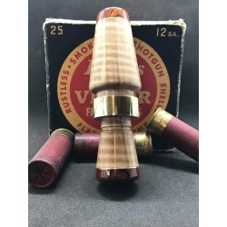 Lazy Dog Calls Curly Maple/Cocobolo Duck Call