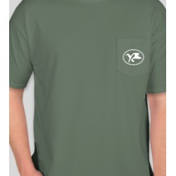 The Call Reserve Blue Spruce Pocket T (Front)
