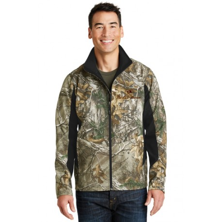 The Call Reserve Camouflage Colorblock Soft Shell