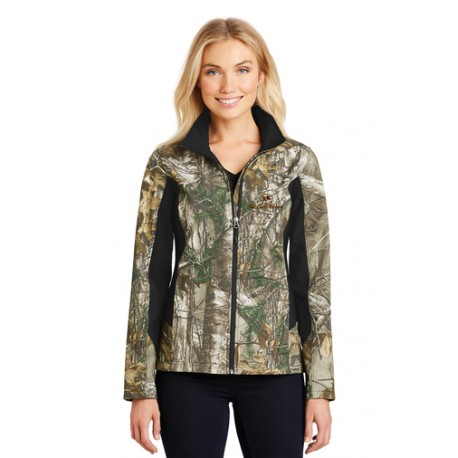 The Call Reserve Women's Camouflage Colorblock Soft Shell