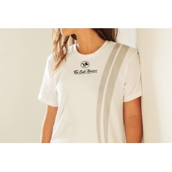 TCR Women's Logo Stripe SS T-Shirt